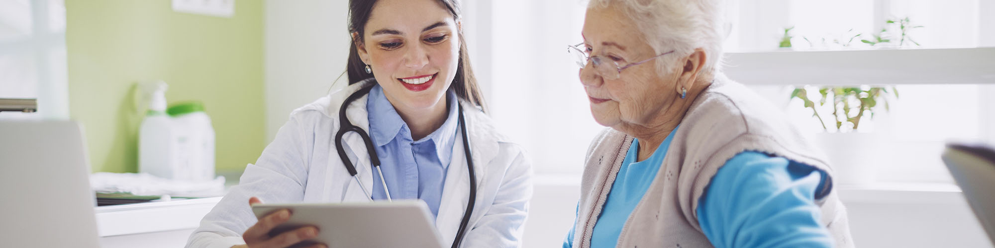 Reviewing a vision care plan